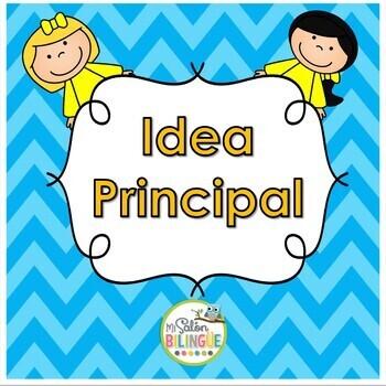 IDEA PRINCIPAL EN ESPAÑOL - MAIN IDEA IN SPANISH