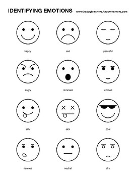 Moms, Interrupted: Helping Children Identify Feelings |Identifying Emotions Chart