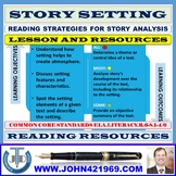 STORY SETTING LESSON AND RESOURCES