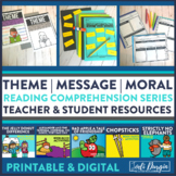 IDENTIFYING THEME BUNDLE read aloud lessons and activities