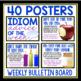IDIOM ACTIVITIES & POSTERS - IDIOM ADVICE