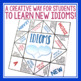 IDIOM ACTIVITY: PAPER FORTUNE TELLER