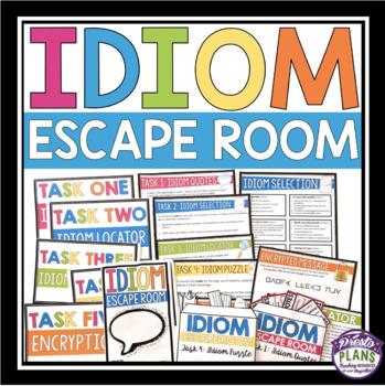 IDIOM ESCAPE ROOM ACTIVITY