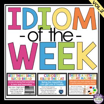 IDIOM OF THE WEEK VOLUME 2