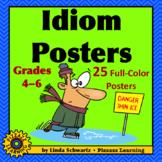 IDIOM POSTERS • Grades 4–6