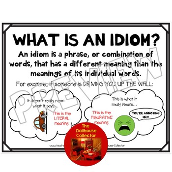 IDIOM Reference Sheet/Poster