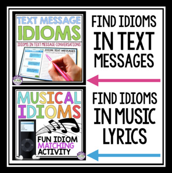 IDIOMS - ACTIVITIES, ASSIGNMENTS, POSTERS, TASK CARDS, & AWARDS