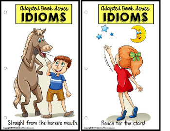 IDIOMS Adapted Activity Book Set for Autism and Special Education Students