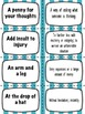 IDIOMS BUNDLE (NO-PREP) - 100+ PAGES OF PRINTABLES, MATCHING CARDS AND MORE!