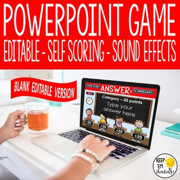 IDIOMS REVIEW GAME SHOW: AN EDITABLE POWERPOINT GAME SHOW