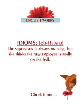 IDIOMS: Job-Related