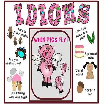 Idioms Freebie Poster