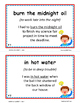 IDIOMS • Set 1 | Figurative Language CORE | BB Cards | Task Cards | Worksheets +