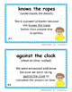 IDIOMS • Set 5 | Figurative Language CORE | BB Cards | Task Cards | Worksheets +