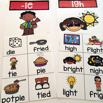 Long I-IE, IGH Activities and Printables
