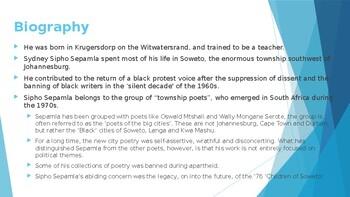 IEB Poetry: Da Same, Da Same PowerPoint Presentation