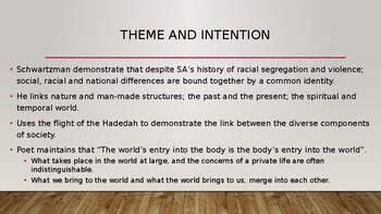 IEB Poetry: Hadedah PowerPoint Presentation