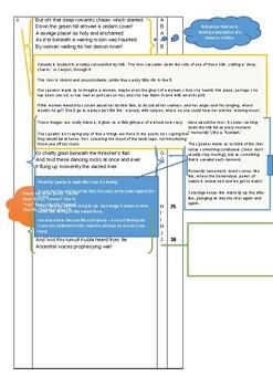 IEB Poetry: Kubla Khan Word Document