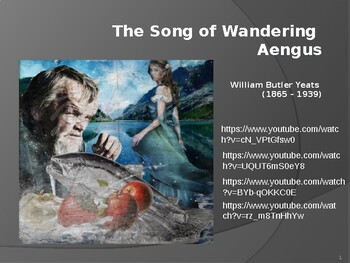 IEB Poetry: The Song of the Wandering Aengus PowerPoint Presentation