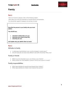 IELTS Part 2 & 3 Exam Preparation