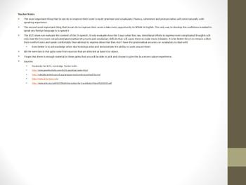 IELTS Speaking Module Part 3
