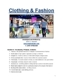 IELTS Speaking Topic: Clothing & Fashion