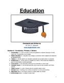 IELTS Speaking Topic: Education