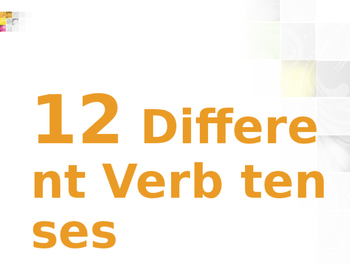 IELTS Training- Verb Tenses