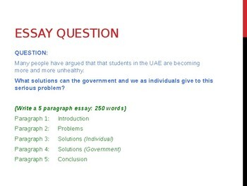 IELTS WRITING TASK 2: PROBLEM AND SOLUTION