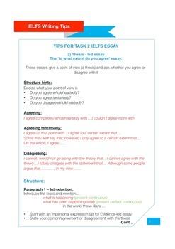 IELTS Writing Exam Tips