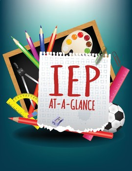 IEP At-A-Glance Form