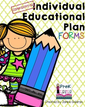 IEP At-a-glance forms