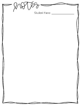 IEP Binder and Forms