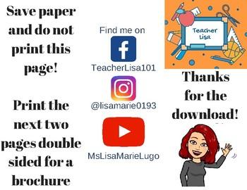 IEP Brochure for Parents