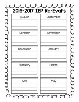 IEP Calendars #Celebrate2018