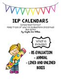 IEP Calendars
