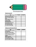 IEP Case Management Checklist