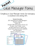 IEP Case Manager Forms Full Packet