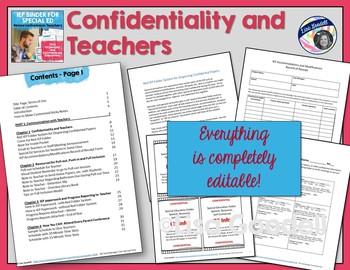 Special Education Organization IEP Binder - Resource/Inclusion Teachers EDITABLE