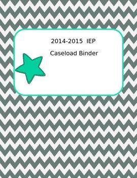 IEP Caseload Binder Covers