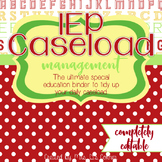 The Ultimate Special Education Binder - School Apples {editable} IEP Binder