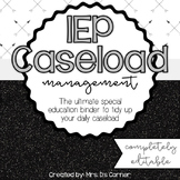 IEP Caseload Management {Black + White} - Ultimate IEP Spe