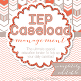 The Ultimate Special Education Binder - Chevron {editable} IEP Binder