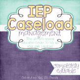 The Ultimate Special Education Binder - Cloudy Sky {editable} IEP Binder