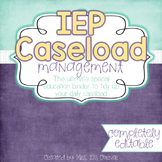 The Ultimate Special Education Binder - Cloudy Sky {editable} IEP Binder