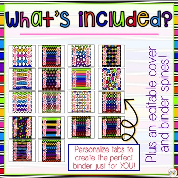 The Ultimate Special Education Binder - Rainbow {editable} IEP Binder
