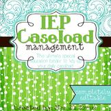 The Ultimate Special Education Binder - Teal Mosaic {editable} IEP Binder