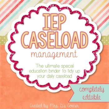 The Ultimate Special Education Binder {editable} IEP Binder