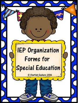 IEP Checklists