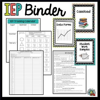 IEP Binder by School Bells N Whistles | Teachers Pay Teachers